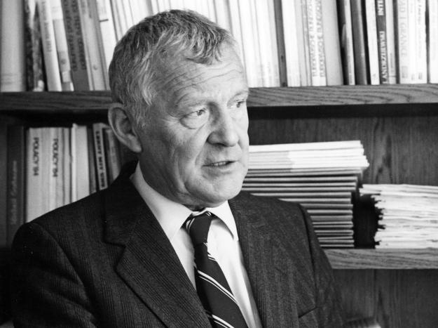 Premier Mieczyslaw F. Rakowski, 1988 /Grzegorz Roginski /Agencja FORUM