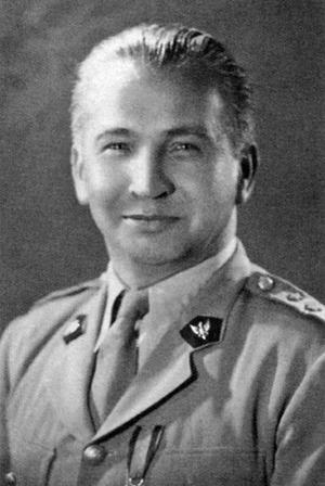 Generał Leopold Okulicki /Reprodukcja: Marek Skorupski /Agencja FORUM