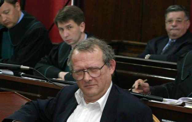 Lew Rywin przed sądem. Zeznaje Adam Michnik /Adam Chełstowski /Agencja FORUM/