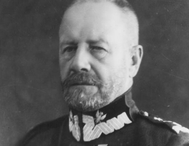 Generał Lucjan Żeligowski umożliwił powrót Wilna do Polski /Z archiwum Narodowego Archiwum Cyfrowego/