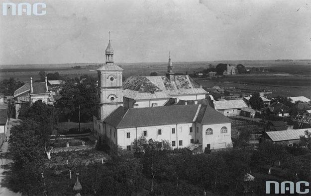 W wyniku wymiany Polska straciła m.in. miasto Bełz /Z archiwum Narodowego Archiwum Cyfrowego/