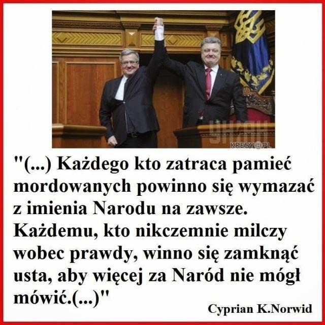 Komorowski i Poroszenko