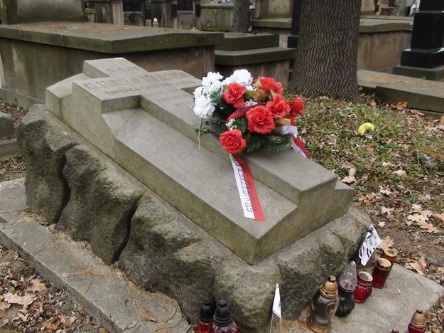 Grób ks. Stanisława Stojałowskiego na cmentarzu Rakowickim w Krakowie /Archiwum autora/
