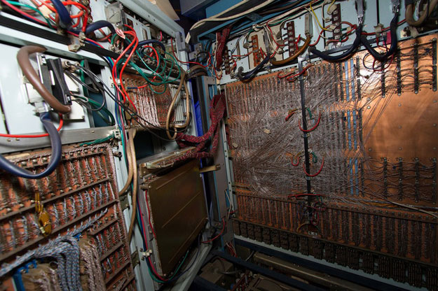 Wnętrze komputera Odra 1305 /Bogusz Polczyński /East News/