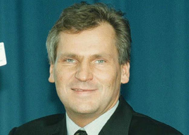 Lider lewicy Aleksander Kwaśniewski /AFP/