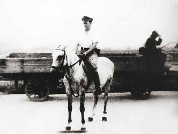 SS-Hauptsturmführer Amon Göth, komendant niemieckiego obozu koncentracyjnego w Płaszowie /IPN/