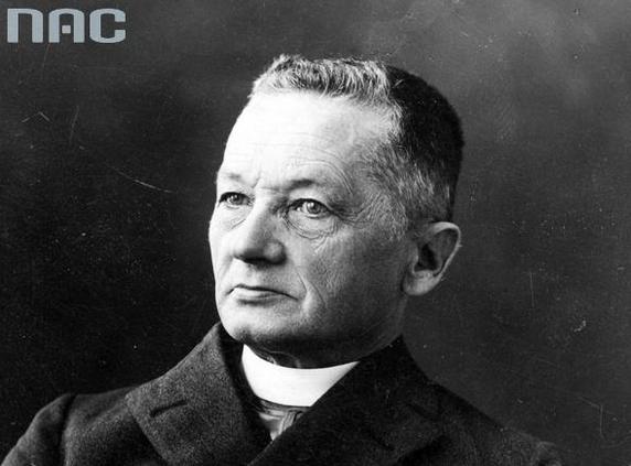 Ksiądz Józef Londzin został przewodniczącym Rady /Z archiwum Narodowego Archiwum Cyfrowego/