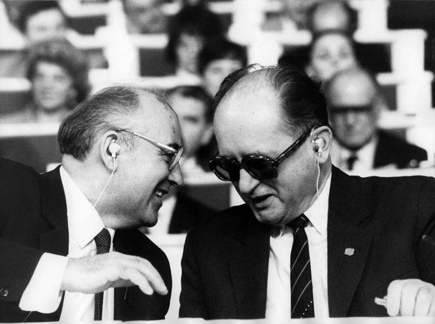 Gościem X Zjazd PZPR był Michaił Gorbaczow /AFP/
