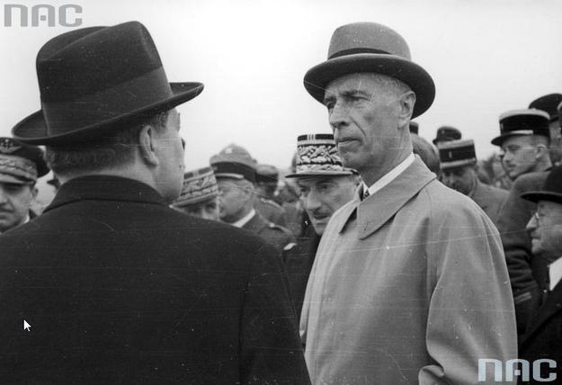 Prezydent RP na uchodźstwie Władysław Raczkiewicz. Zdjęcie z 1940 roku /Z archiwum Narodowego Archiwum Cyfrowego/