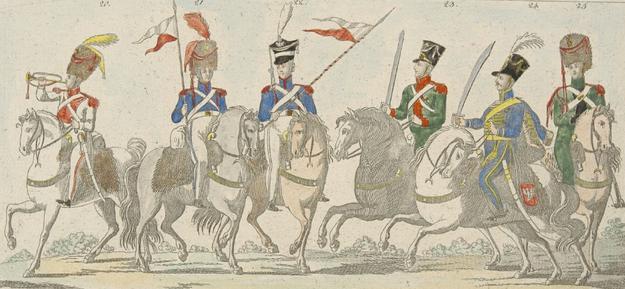 Armia Księstwa Warszawskiego /Wikimedia/