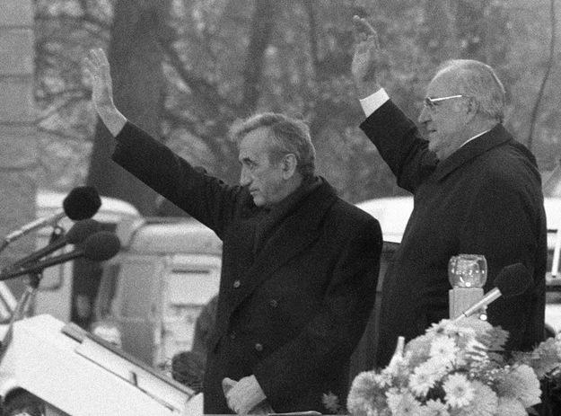 """Mazowiecki i Kohl nie poczuli wówczas pomiędzy sobą """"chemii, choć później darzyli się sympatią"""" /Tomasz Kosiorowski /Fotonova/"""