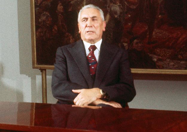 Edward Gierek. Zdjęcie z 1977 roku /AFP/