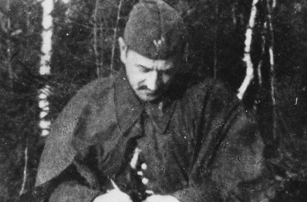 Porucznik Jan Borysewicz pseudonim Krysia /Z archiwum Narodowego Archiwum Cyfrowego/