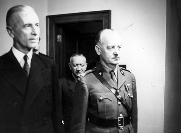 Prezydent Władysław Raczkiewicz i generał Władysław Sikorski. Zdjęcie z czerwca 1941 roku /Z archiwum Narodowego Archiwum Cyfrowego/