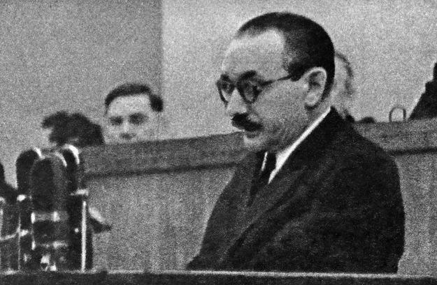 """Bolesław Bierut mówił o """"zadaniach partii w walce o umacnianie codziennej więzi z masami pracującymi"""" /AFP/"""
