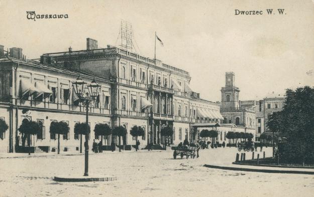 Budynek Dworca Wiedeńskiego w Warszawie /Wikimedia/