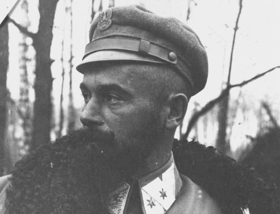 Edward Rydz-Śmigły jako oficer I Brygady Legionów /Z archiwum Narodowego Archiwum Cyfrowego/