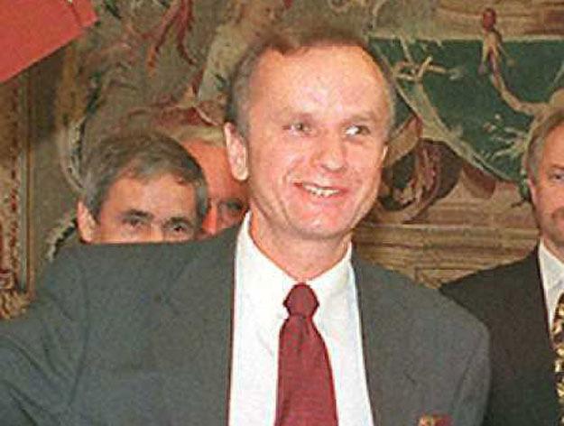 Grzegorz Kołodko. Zdjęcie z 1996 roku /JACK GUEZ /AFP/