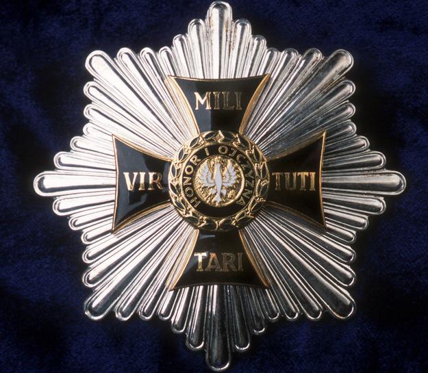 Order Virtuti Militari /Michał Gmitruk /Agencja FORUM/