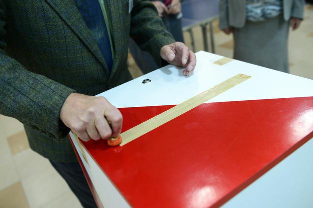 Urna wyborcza (zdjęcie ilustracyjne) /Daniel Dmitriew /Agencja FORUM/